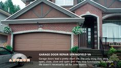 Garage doors lead a pretty short life. The only thing they do is open, close, close and open until they stop functioning. The simple life doesn't necessarily call for little repairs. If you are having trouble with your garage door, you should call Springfield garage door company. Our garage door company consists of reputable garage