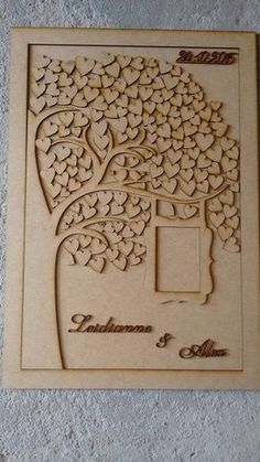 Family tree - you could add a new heart with each new family member Wedding Cards, Diy Wedding, Wedding Favors, Rustic Wedding, Wedding Gifts, Dream Wedding, Wedding Decorations, Wedding Invitations, Wedding Ideas