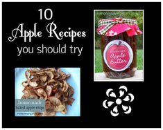 10 Awesome Apple Recipes to try!