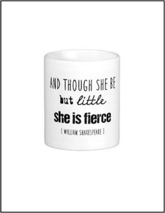 Literary quote coffee mug reading unique by JenniferDareDesigns