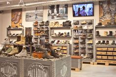 Palladium new york. palladium new york shoe store Shop Window Displays, Store Displays, Outdoor Adventure Store, Military Store, Shoe Store Design, Palladium Boots, Boots Store, D House, Bath And Beyond Coupon