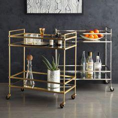 West Elm: Terrace Bar Cart $699