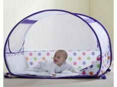 Koo-Di Pop Up Travel Bubble Cot Purple Polka Dot 6-18 Mths RRP £56.99 | Now £43.45 http://tidd.ly/ecc65e83