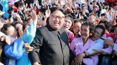North Korean leader Kim Jong Un meets supporters in this undated photo released by North Korea's Korean Central News Agency (KCNA) in Pyongyang September 12, 2017. REUTERS/KCNA   ATTENTION EDITORS - THIS PICTURE WAS PROVIDED BY A THIRD PARTY.
