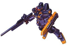 The RGM-79SR GM Sniper III High Mobility Type appears in the novel Advance of Zeta: The Flag of Titans.