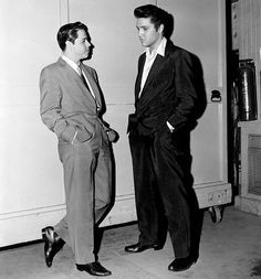 Elvis Presley and Lucho Gatica
