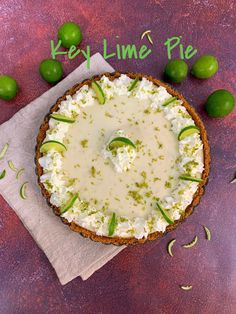 This luscious version of the beloved Key Lime Pie features a salty-sweet graham cracker crust, with a hint of caramel from the addition of brown sugar. The deliciously creamy pie filling, always such a favorite has an intense tangy lime flavor thanks to nearly a cup of fresh-squeezed key lime juice, and a healthy measure of fresh zest for some additional zing.  This pie is a huge crowd-pleaser, and sure to disappear quickly everywhere you serve it!!  #mysweettoothbakery #pielovers… Homemade Graham Cracker Crust, Graham Cracker Crumbs, Keylime Pie Recipe, Crust Recipe, Key Lime Juice, Salted Caramel Sauce, Sweet And Salty, Brown Sugar, Crowd