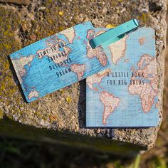 Vintage Map luggage tag / zawieszka do bagażu Vintage Map