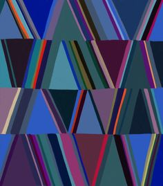 I had a party with colors last night  #stripes #pattern #bold #patterndesign #boldcolors #surfacedesign #abstractart #contemporaryart…