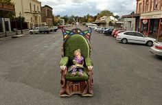Clunes Book Town May 5 and 6 2012.