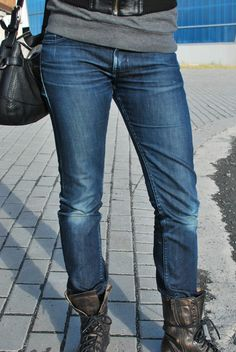 Naked and Famous Denim The Straight women's raw denim
