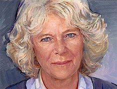 Prince Charles's painting of his wife Camilla