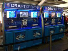 Self serve beer vending machines to debut at baseball games.