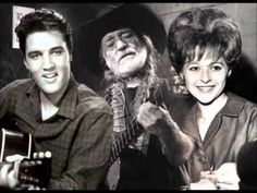 Brenda Lee, Elvis Presley & Willie Nelson - Always On My Mind Country Music Videos, Country Music Stars, Country Songs, Willie Nelson, Brenda Lee, Good Music, My Music, Elvis Presley Albums, Elvis Sings
