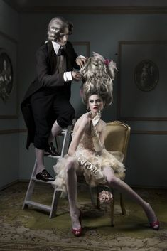 Oh my ..be a dear and fix that will you..I just can't have a hair out of place...... (Martin Diez)