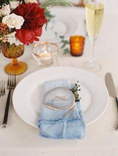 Agate wedding escort card ~  we ❤ this! moncheribridals.com