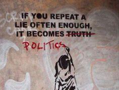 If you repeat a lie often enough, JOHN KEY