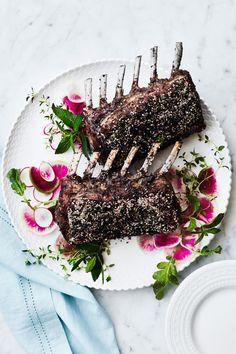 Za'atar Rack of Lamb Recipe | Williams Sonoma Taste