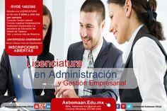 Estudia la Licenciatura en Administración y Gestión Empresarial, a solo 3 años en Frontera Centla, Tabasco.