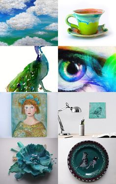 bubble green by paint your wagon on Etsy--Pinned with TreasuryPin.com