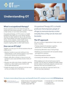 Understanding Occupational Therapy
