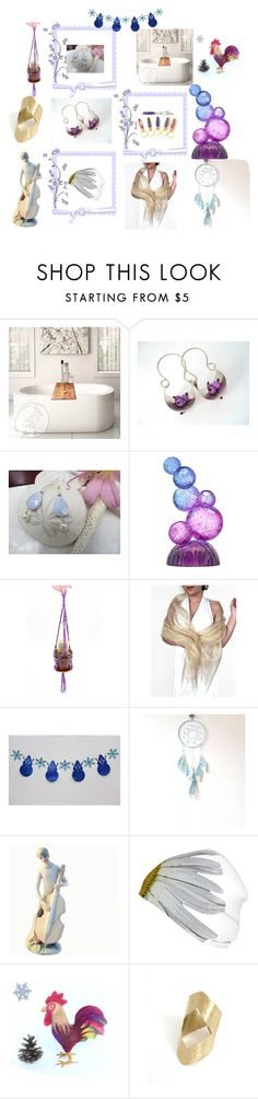 """""""Pretty in Purple"""" by anna-recycle ❤ liked on Polyvore featuring Tondo Doni and Revé"""