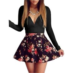 Now available on our store;  V-neck long-sleev...    http://www.shapedboutique.com/products/v-neck-long-sleeved-floral-mini-dress?utm_campaign=social_autopilot&utm_source=pin&utm_medium=pin  #ShapedDressBoutique  www.shapeddreddboutique.com