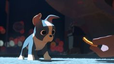 Winston from Feast, the new animated short coming to theatres with Big Hero 6.