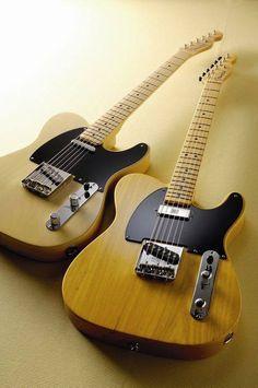 Fender Baja Tele's