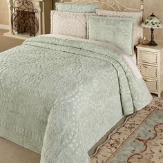 Rio Cotton Chenille Bedspread Bedding