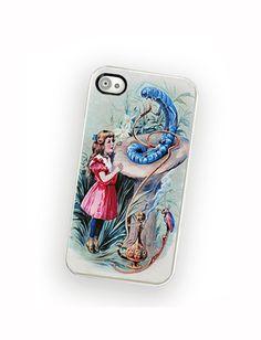 Alice adventures in wonderland iphone case, fits iPhone