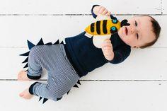 Dinosaur Baby pants by PaulandPaulaShop on Etsy