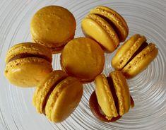 Slik lykkes du med makroner - Franciskas Vakre Verden Slik, Pretzel Bites, Macarons, Nom Nom, Pancakes, Food And Drink, Peach, Sweets, Bread