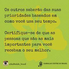 #prioridade #pessoas #importante