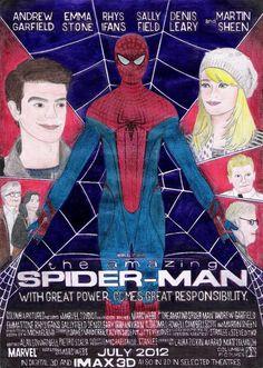 andrecamilo18's Amazing Spider-Man Poster.