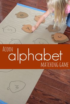This post contains Amazon Affiliate links. Alphabet Activities that get the whole body moving are...