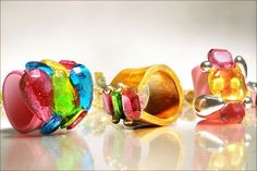 OMG amazing candy jewelry, the ultimate ring pop!