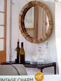 Teapots and Polka Dots: Wine Cork Ideas