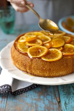 olive oil cake with tangerine marmalade, The Newlywed Cookbook {recipe and styling by Sarah Copeland}