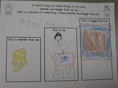 Mrs. Morrow's Kindergarten: Beginning of the Year Fun! Measurement by length