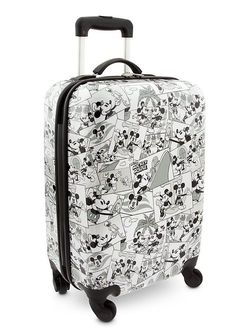 1d1e4b60267 Mickey Mouse Comic Strip Luggage - Disney themed to Disney Cruise Line.