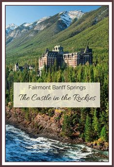 An inside glimpse into the Castle in the Rockies: Fairmont Banff Springs hotel Banff National Park, National Parks, Places To Travel, Places To Visit, Travel Destinations, Banff Photography, Banff Hotels, Visit Canada, Canada Eh
