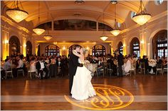 Crystal Ballroom at the Rice Hotel, Houston Texas. It's reeeeaaal nice and booked for our reception!!
