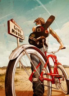 música y bici