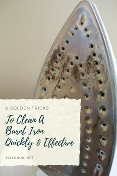 6 Golden Tricks To Clean A Burnt Iron Quickly And Effective Norwex Cleaning, Household Cleaning Tips, Green Cleaning, Spring Cleaning, Cleaning Hacks, Cleaning Iron Plate, How To Clean Humidifier, Diy Jewelry Unique, Diy Jewelry Holder