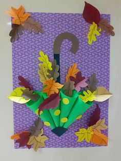 Easy Preschool Crafts, Toddler Arts And Crafts, Preschool Art Projects, Preschool Art Activities, Fall Art Projects, Classroom Art Projects, Autumn Activities, Craft Stick Crafts, Autumn Crafts