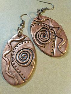 Diy Jewelry Making Pendants Polymer Clay Ideas For 2020 Polymer Clay Pendant, Polymer Clay Charms, Polymer Clay Art, Polymer Clay Earrings, Clay Beads, Metal Clay Jewelry, Ceramic Jewelry, Jewelry Art, Jewelry Ideas