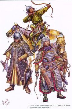 Mongol Warriors 13th cent.