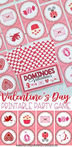 VALENTINE PRINTABLE, Printable Valentines Game   Great For Grandkids And  Class Parties. Just Print
