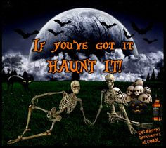 If you got it Haunt it! Samhain Halloween, Halloween Jack, Happy Halloween, You Get It, How To Get, Alcohol Quotes, Jack Daniels, Facebook Sign Up, Shit Happens